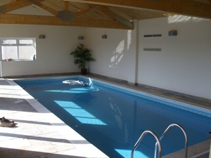 Solar Heated Swimming pool