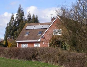 Solar thermal installation