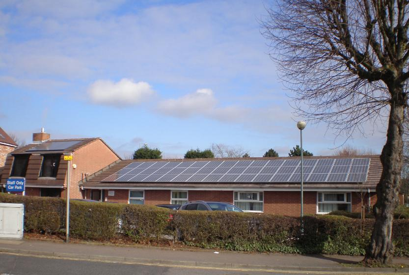 Local Nhs Goes Solar