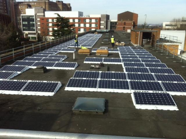 27kwp Solar Pv System Aston University Birmingham