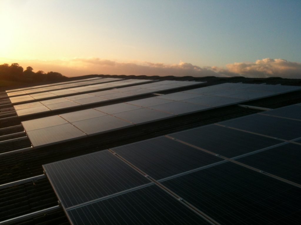 Warwickshire solar energy
