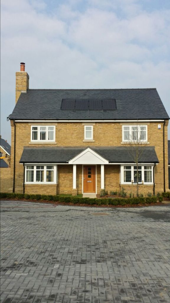 In roof new build solar PV