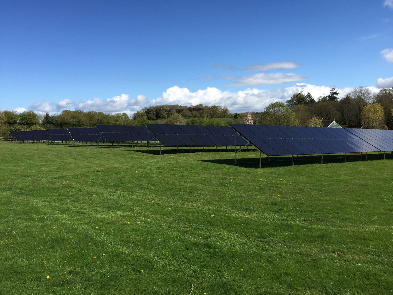 Ground Mounted Solar PV near listed building